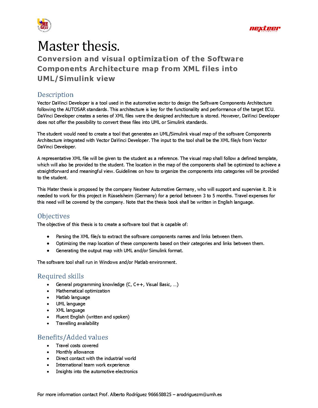software architecture thesis Thesis h sozer - ebook download as pdf file (pdf), text file (txt) or read book online.