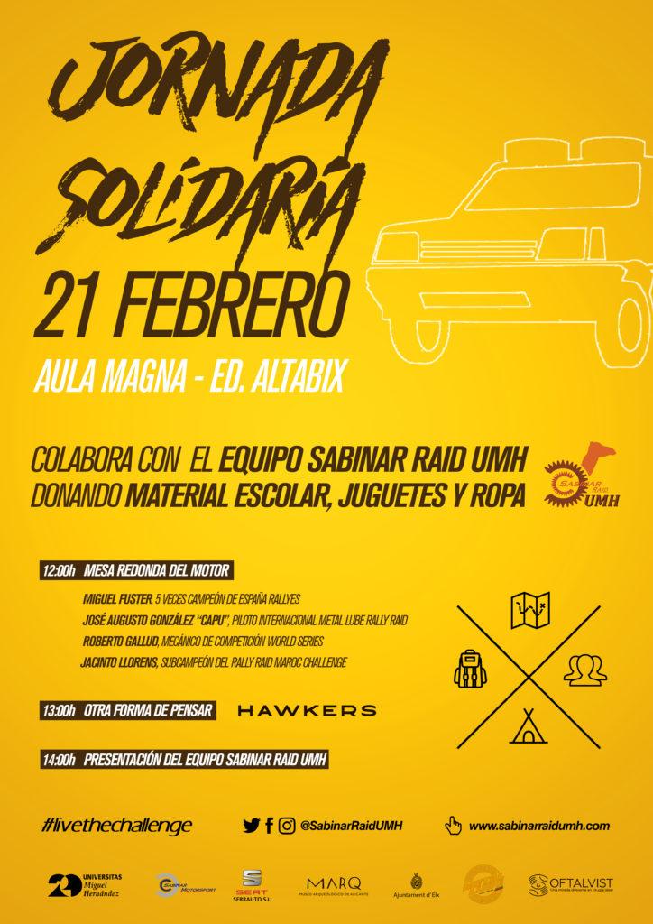 JORNADA SOLIDARIA 21-02-17