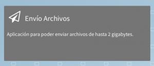 Envío Archivos